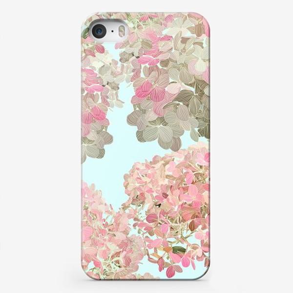 Чехол iPhone «hydrangea»