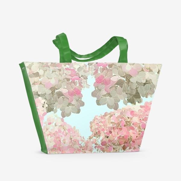 Пляжная сумка «hydrangea»