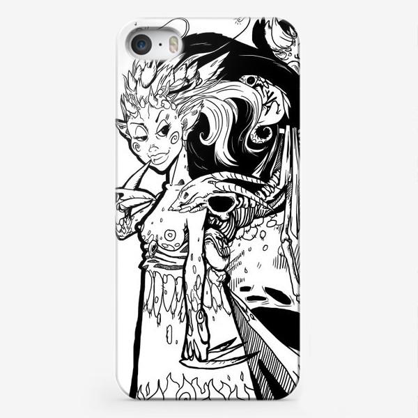 Чехол iPhone «Маленькая хитрая Дьяволица»