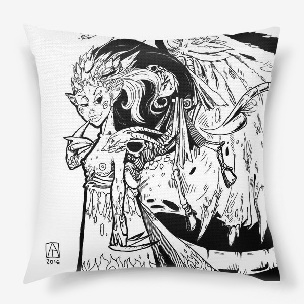Подушка «Маленькая хитрая Дьяволица»