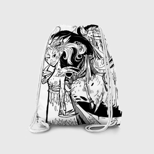 Рюкзак «Маленькая хитрая Дьяволица»