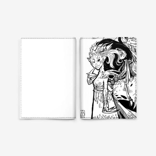 Обложка для паспорта «Маленькая хитрая Дьяволица»