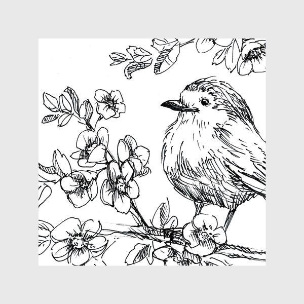 Шторы «Птичка»