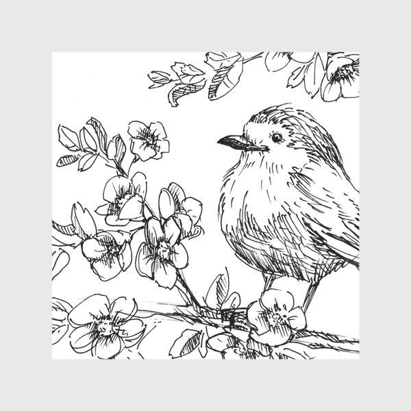 Скатерть «Птичка»
