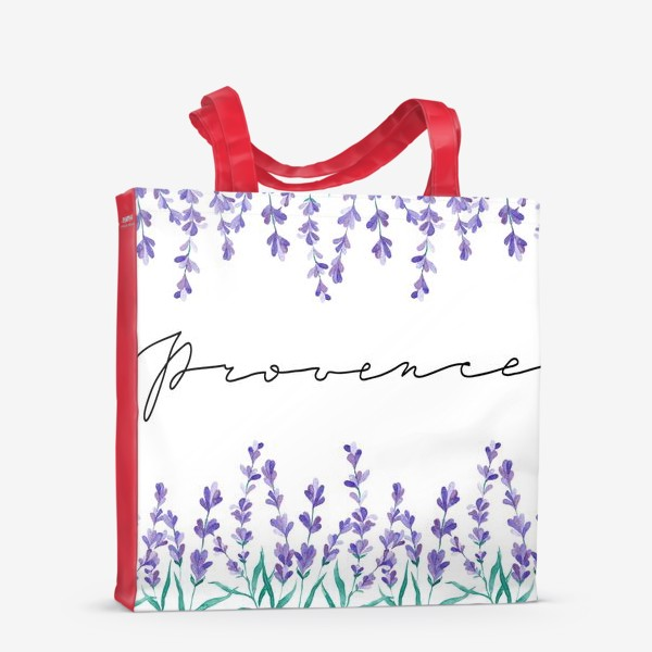 Сумка-шоппер «Прованс акварель»