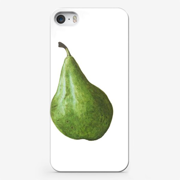Чехол iPhone «Зеленая груша»