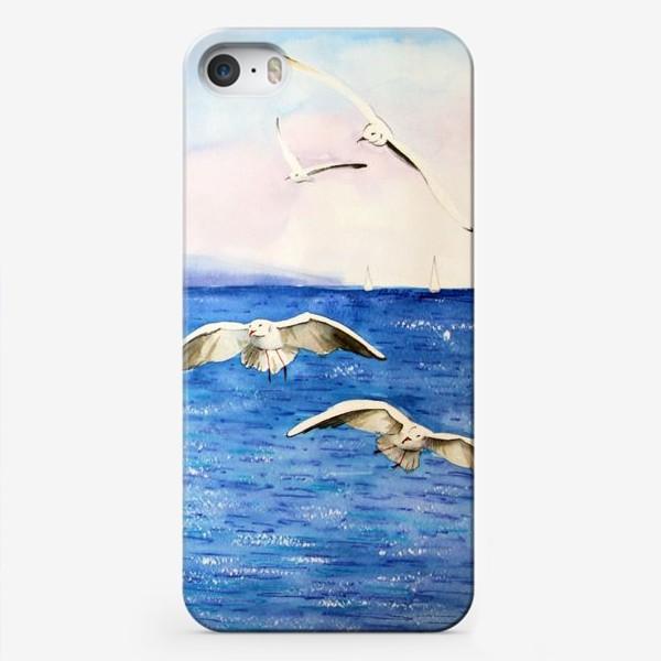 Чехол iPhone «Морские чайки»