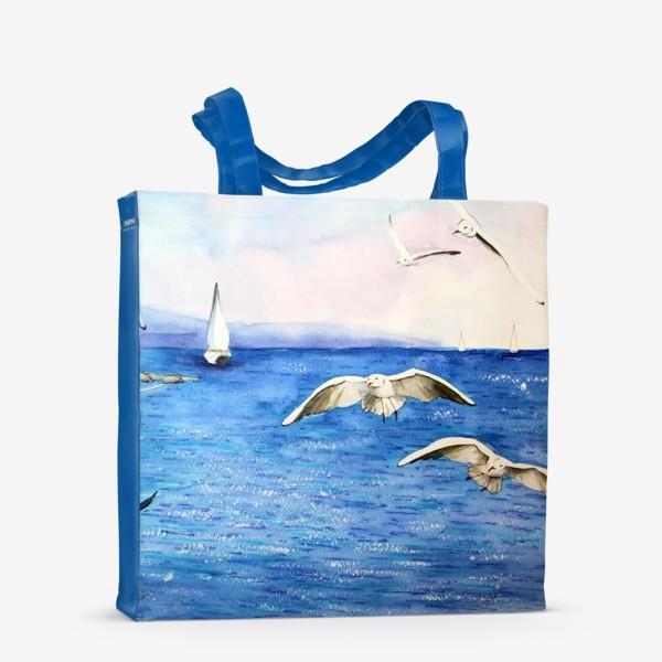 Сумка-шоппер «Морские чайки»