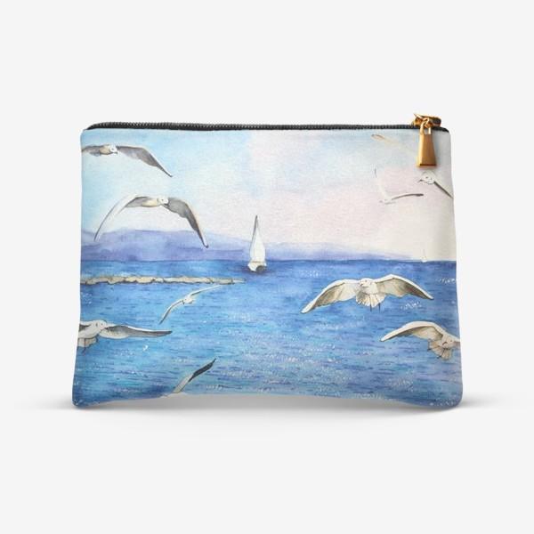 Косметичка «Морские чайки»
