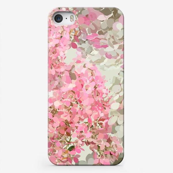 Чехол iPhone «pink hydrangea»