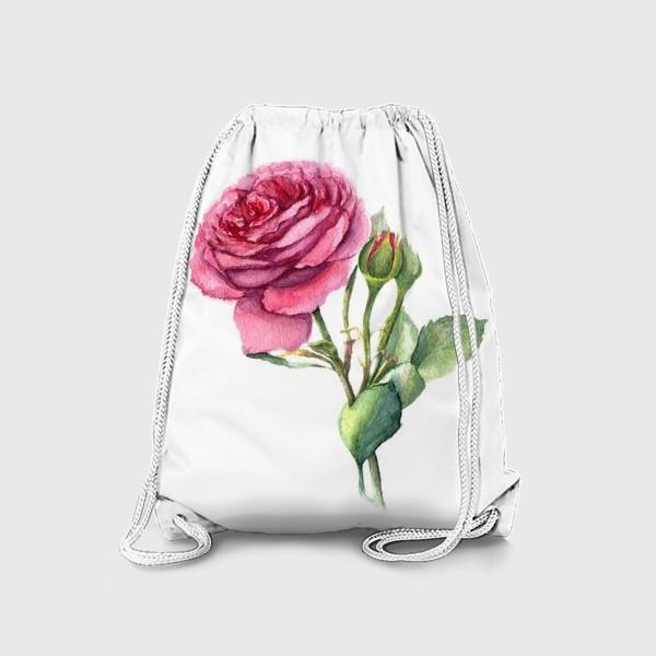 Рюкзак «Роза с бутонами»