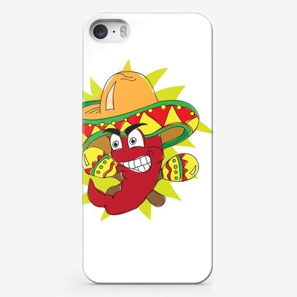 Чехол iPhone «Мексиканский перчик»