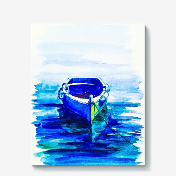 Холст «Лодка»