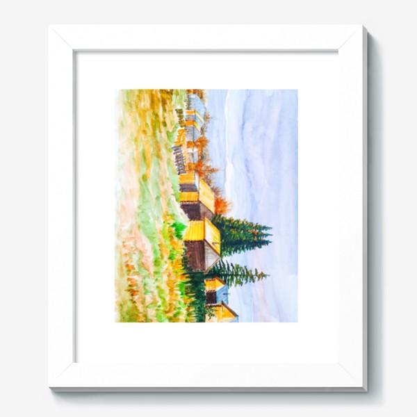 Картина «Деревушка»