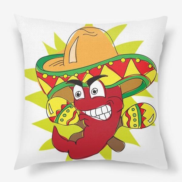 Подушка «Мексиканский перчик»