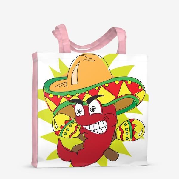 Сумка-шоппер «Мексиканский перчик»