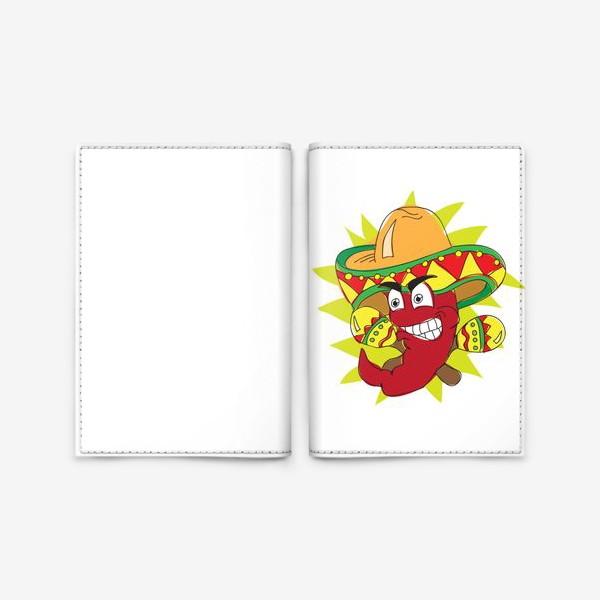 Обложка для паспорта «Мексиканский перчик»