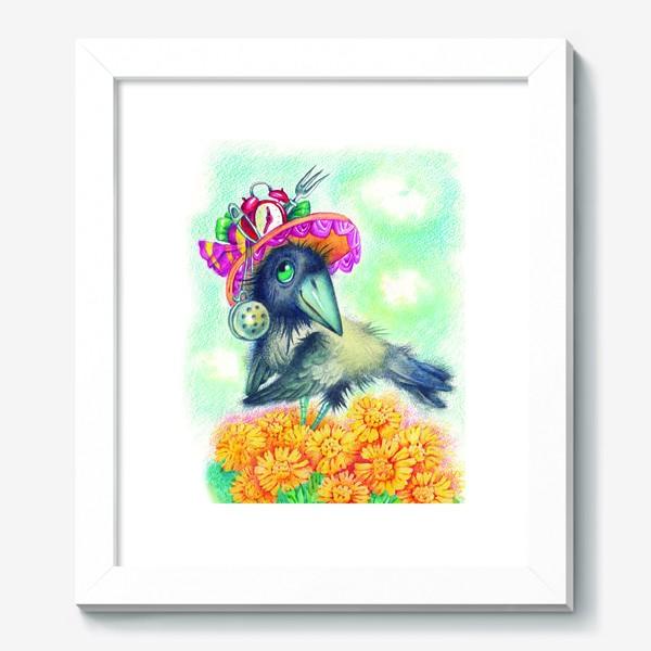 Картина «Весенняя ворона»