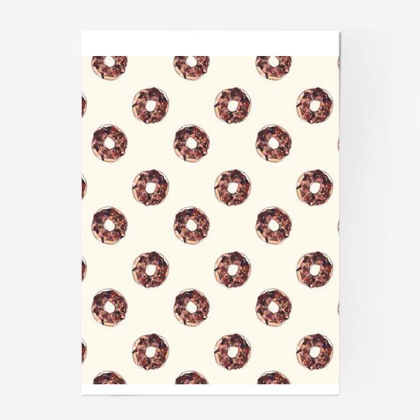 Постер «пончики»