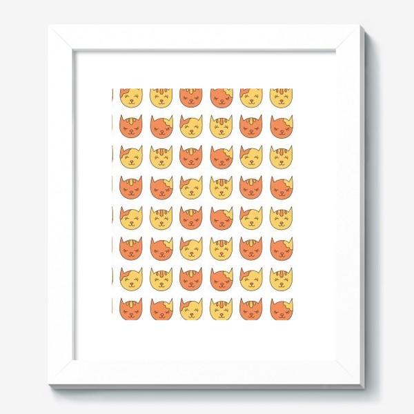 Картина «Сонные рыжие коты»