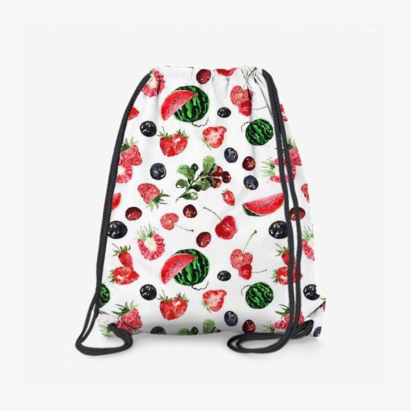 Рюкзак «Ягодный летний микс»
