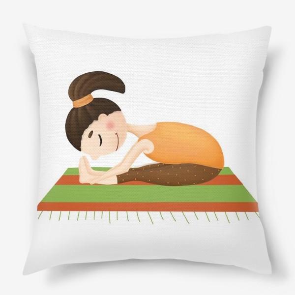 Подушка «йога»