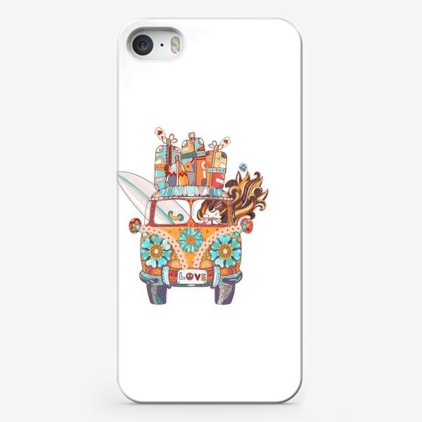 Чехол iPhone «Бохо Серф Автобус»
