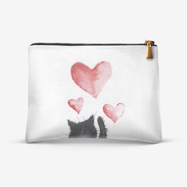 Косметичка «Кошачья любовь»