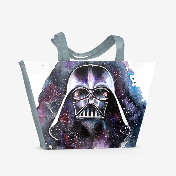 Пляжная сумка «Влюбленный Дарт Вейдер»