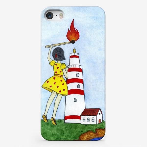 Чехол iPhone «Озари мой путь»