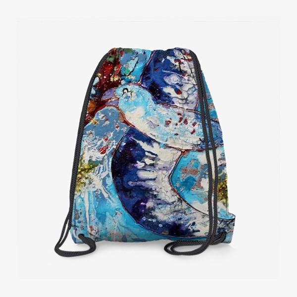 Рюкзак «Синяя птица счастья»