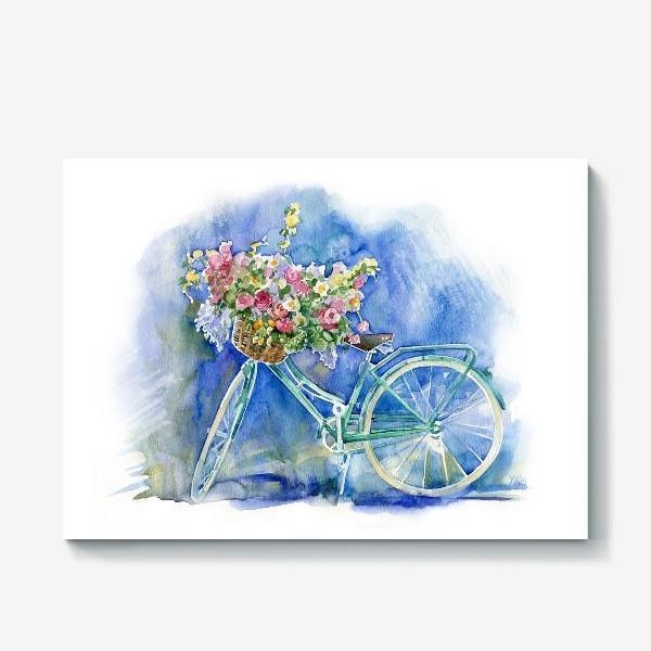 Холст «Велосипед»