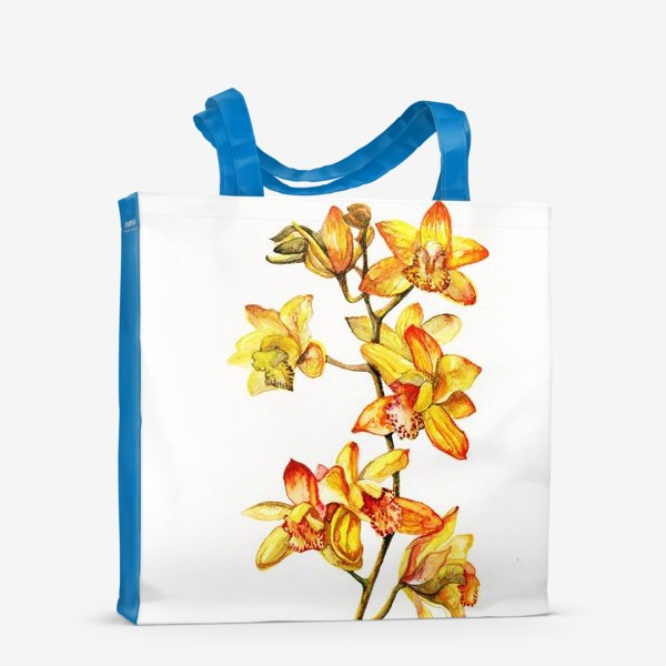 Сумка-шоппер «желтая орхидея»