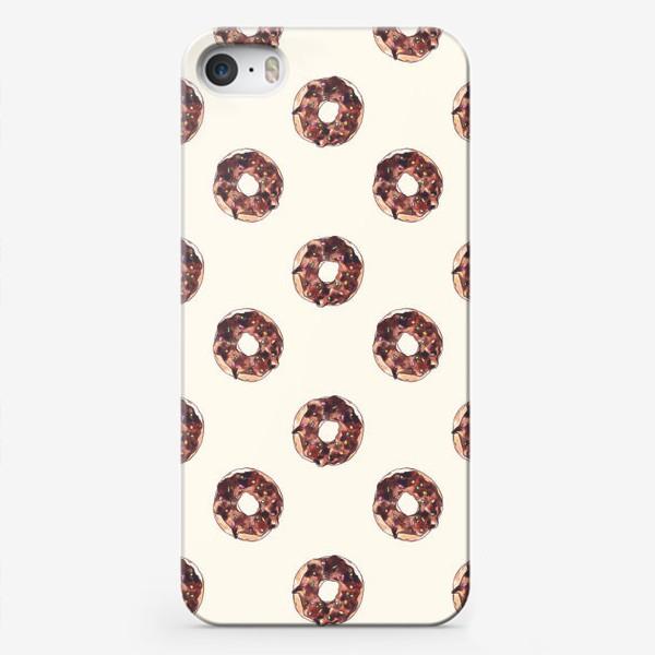 Чехол iPhone «пончики»
