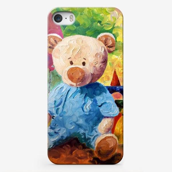 Чехол iPhone «Медвежонок Алекс»