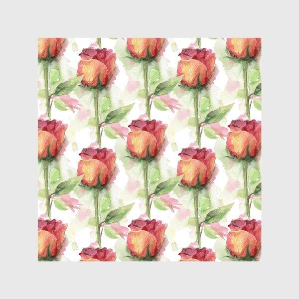 Шторы «Розовые розы»