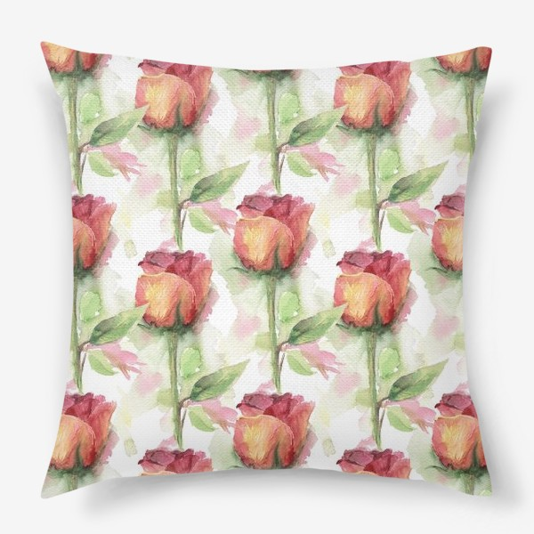 Подушка «Розовые розы»