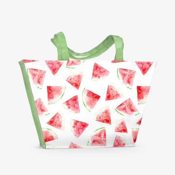 Пляжная сумка «Арбуз »