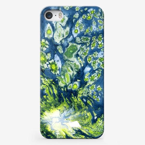 """Чехол iPhone «Композиция 5. Из серии """"Фантастические миры"""" »"""