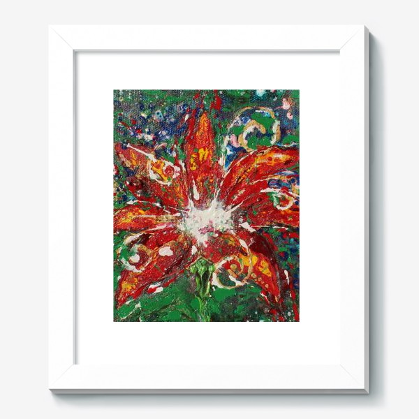 Картина «Цветочек аленький»