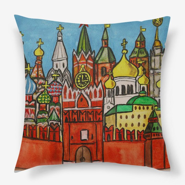 Подушка «Москва, Кремль»