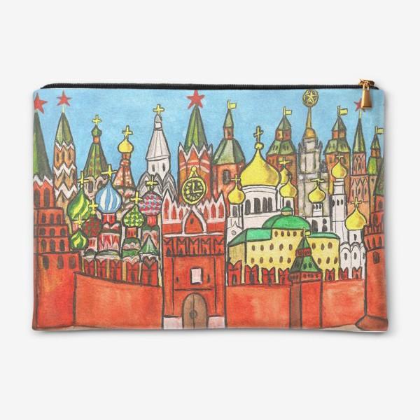 Косметичка «Москва, Кремль»