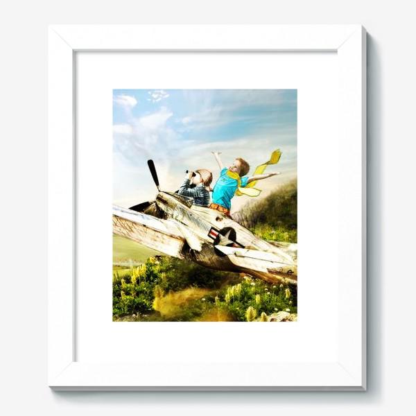 Картина «Будущие летчики»