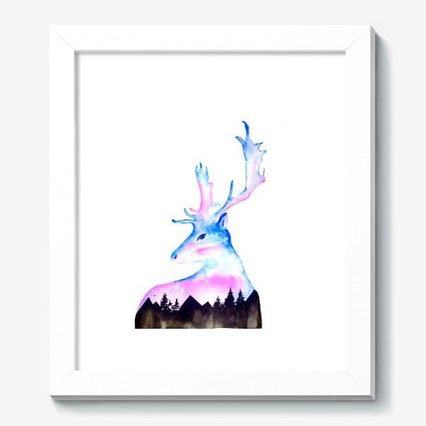 Картина «Ночной Олень»