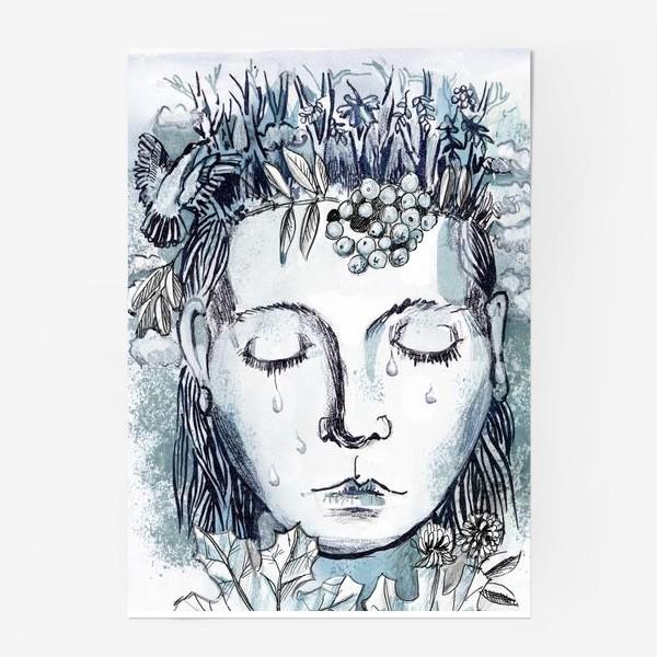 Постер «Лесная нимфа»