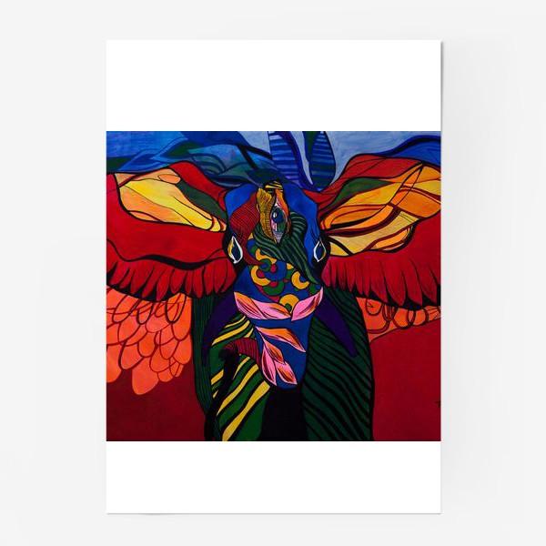 Постер «Трехглазый слон»