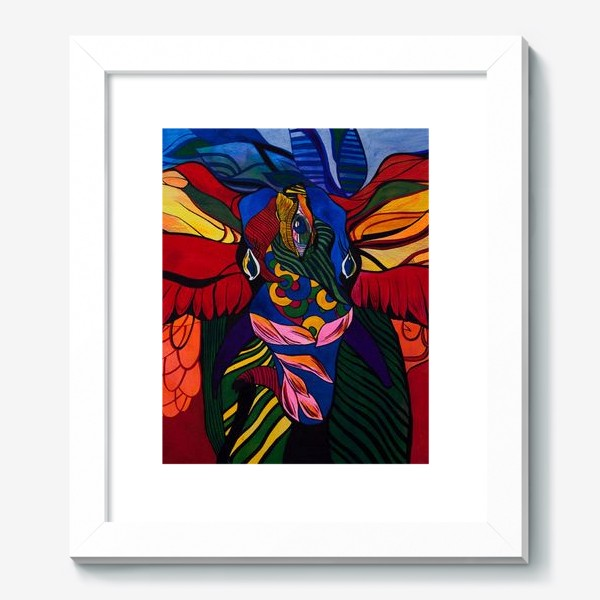 Картина «Трехглазый слон»