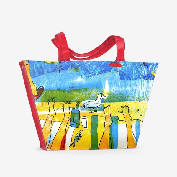 Пляжная сумка «Море. Крым.»