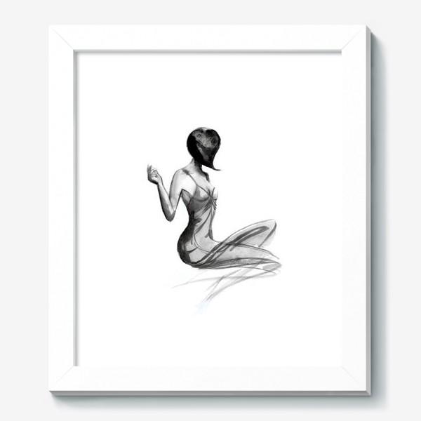 Картина «Девушка в стиле ретро»