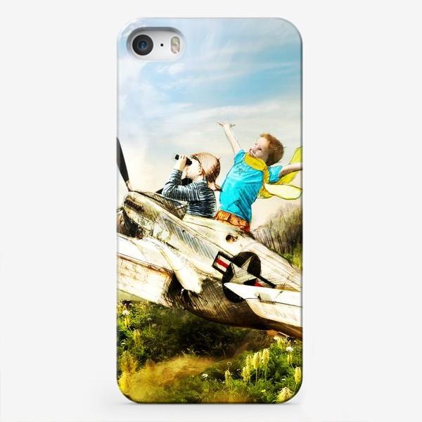 Чехол iPhone «Будущие летчики»